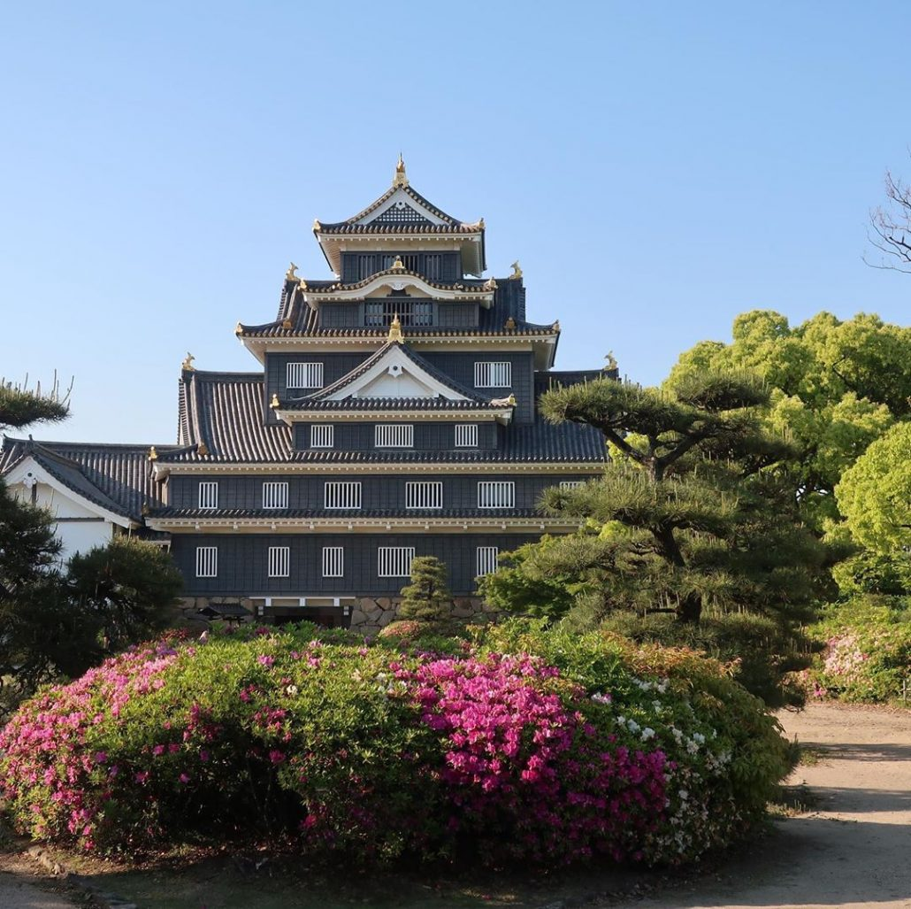 okayama kalesi - japonya gezilecek yerler