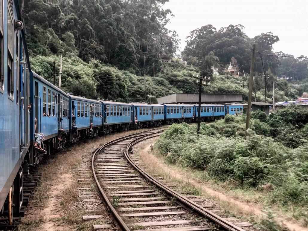 sri lanka'da yapılacaklar - mavi tren yolculugu