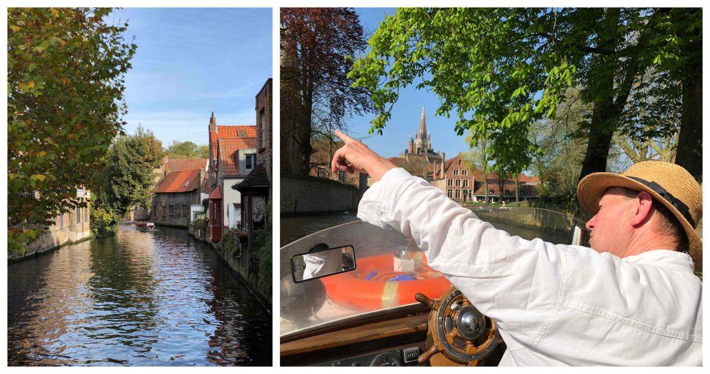 Brugge kanal gezisi
