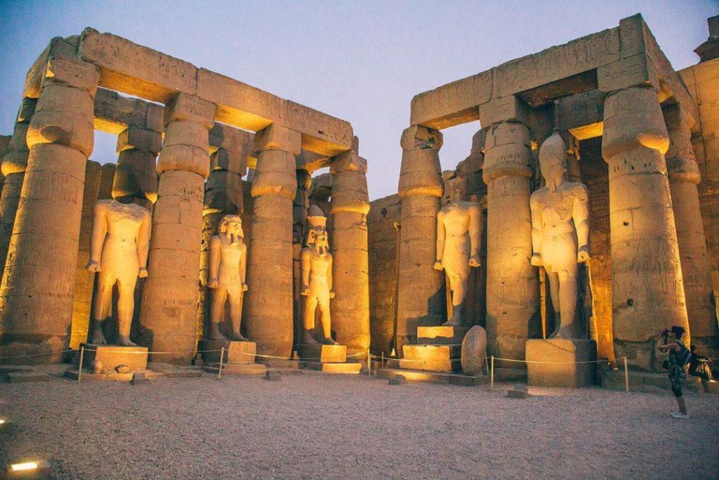 mısır gezi rehberi - luxor tapınakları