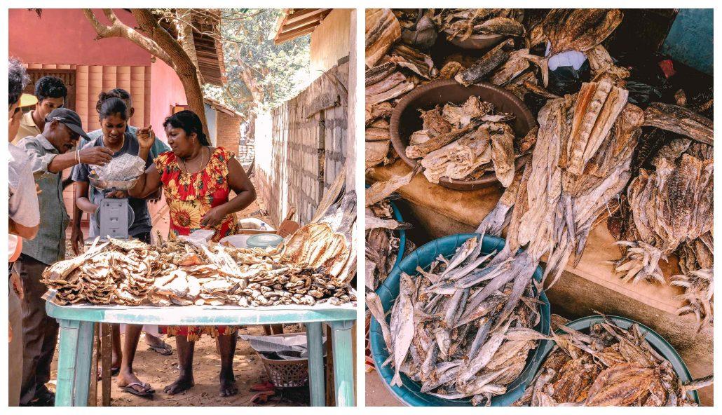 sri lanka mutfağı - kurutulmuş balık
