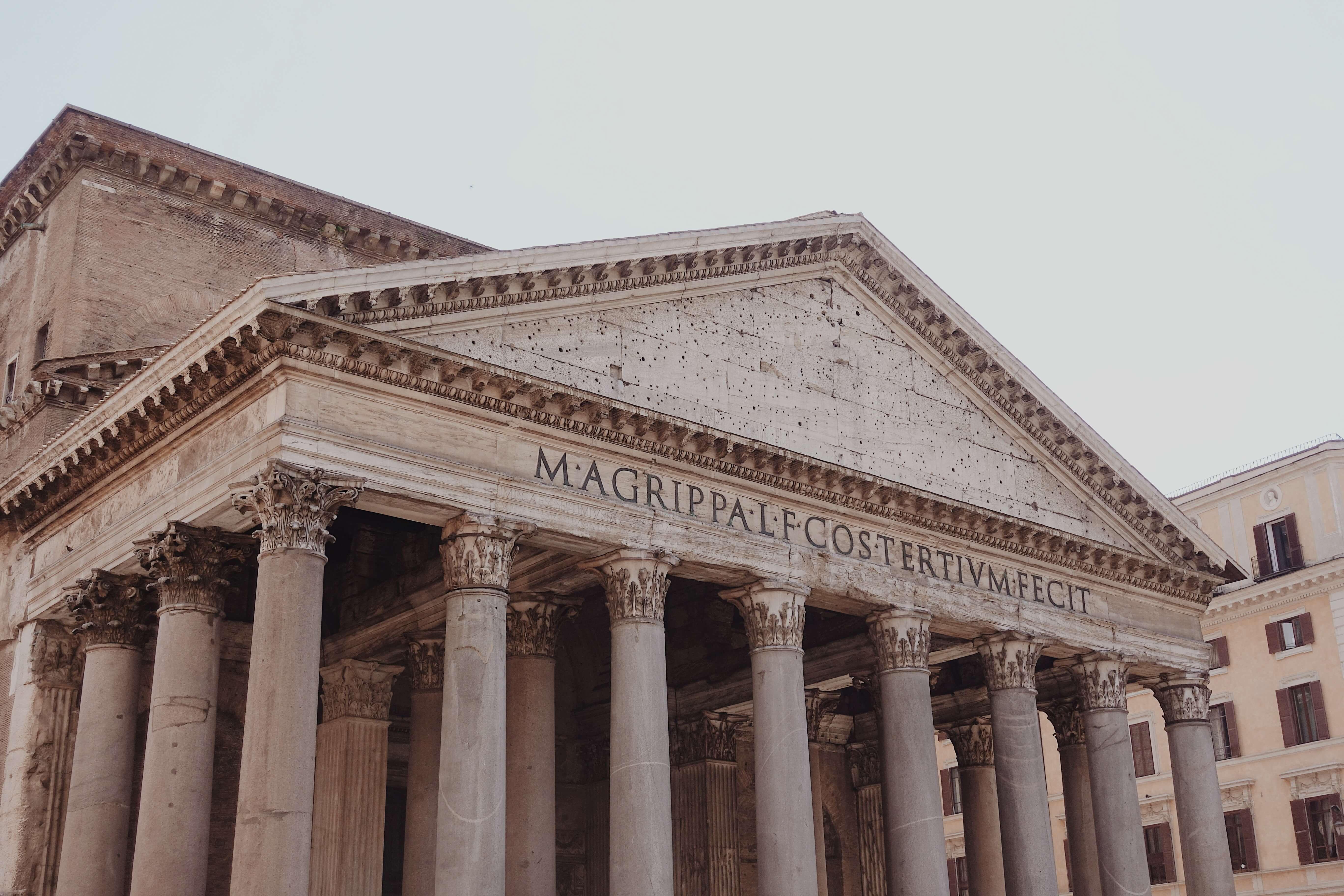 Roma'da Gezilecek Yerler- Panteon