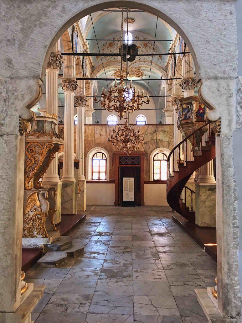 Taksiyarhis Kilisesi - Ayvalık Gezi Notları