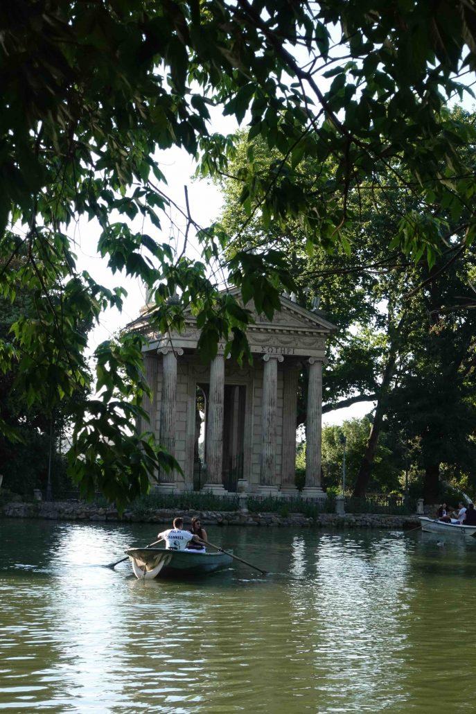 roma gezi rehberi - Villa Borgehese