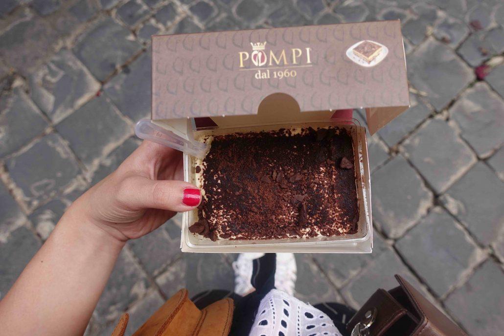Roma'dan tiramisu yemeden dönmeyin