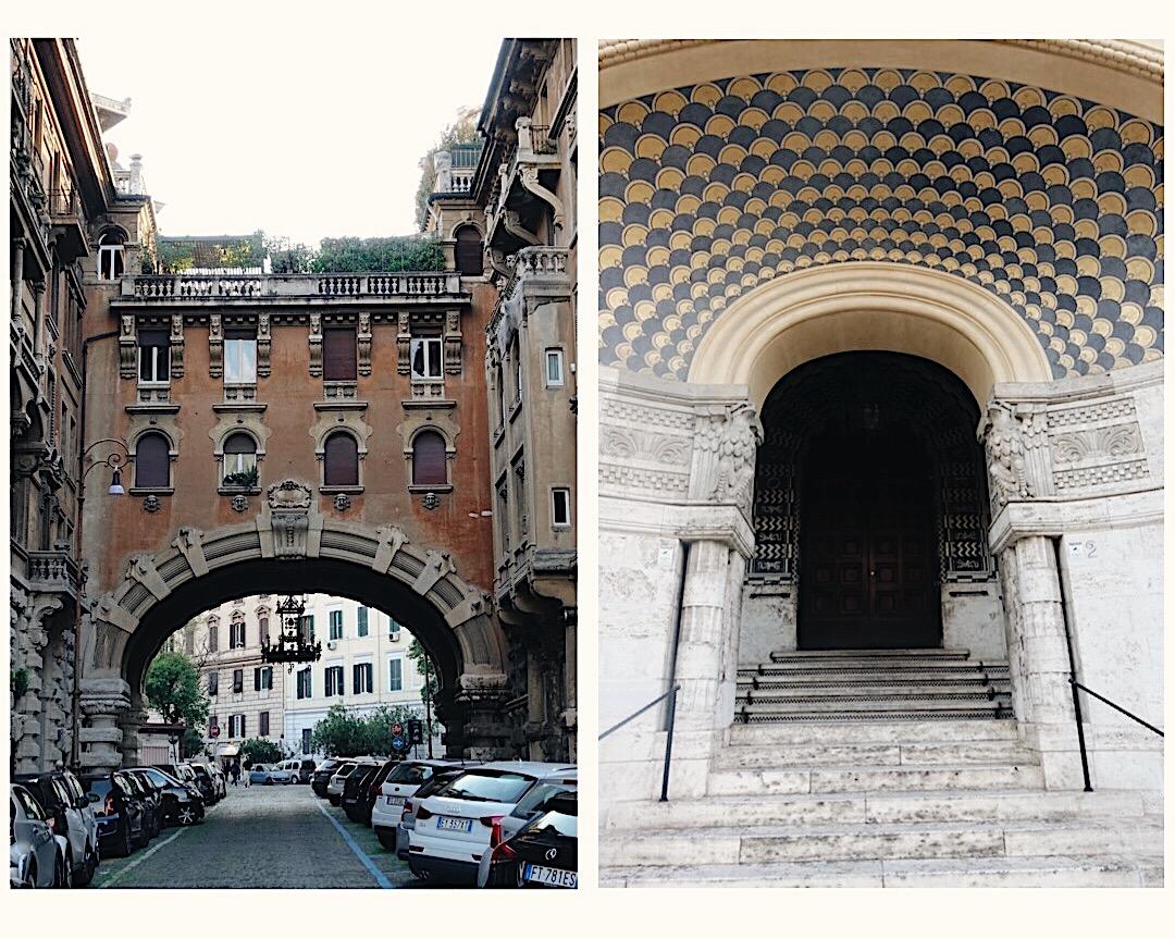 Roma'da Gezilecek Yerler- Quartiere Coppede
