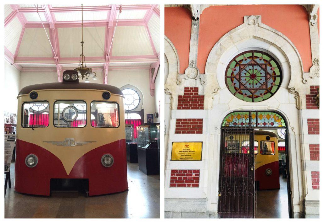 istanbul'un en güzel müzeleri - demir yolları müzesi
