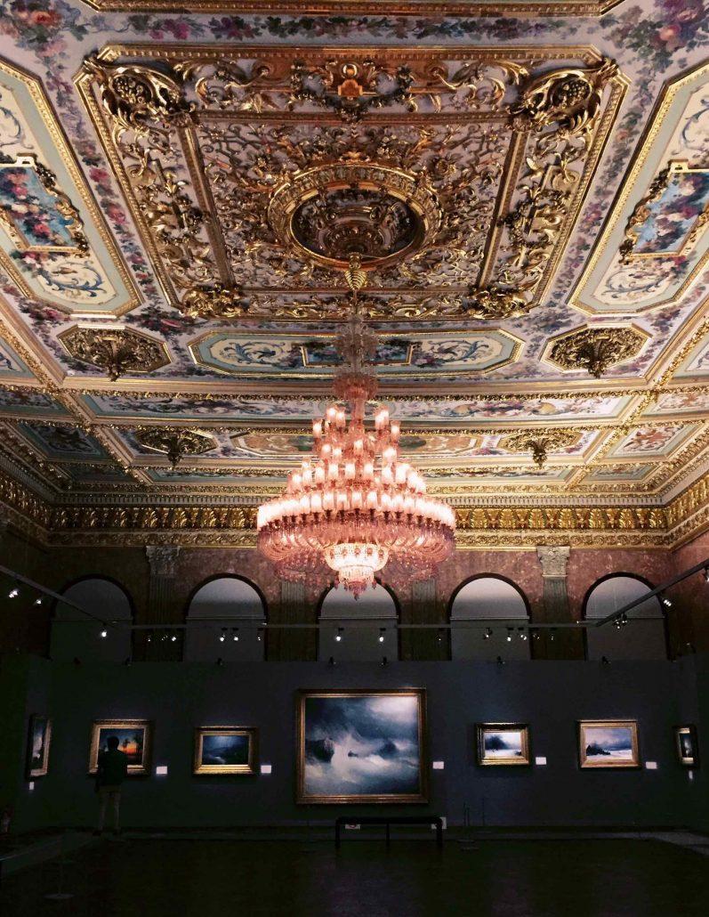 istanbul'un en güzel müzeleri - milli saraylar resim müzesi