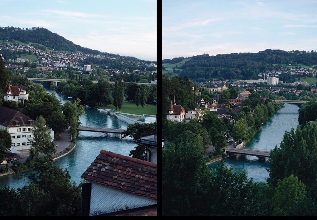 Tepelerden Bern Manzarası