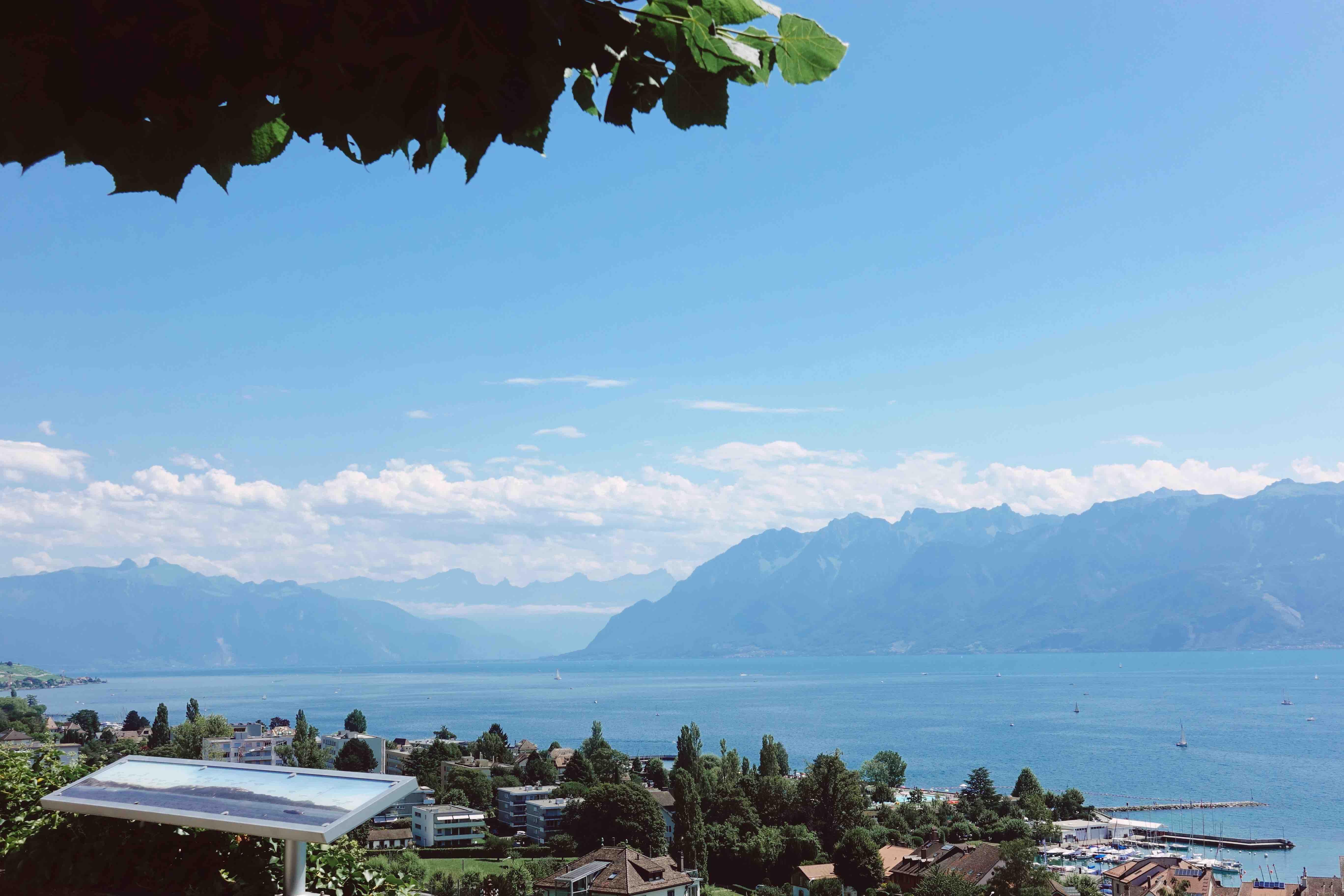 İsviçre'de Cenevre Göl Rotası