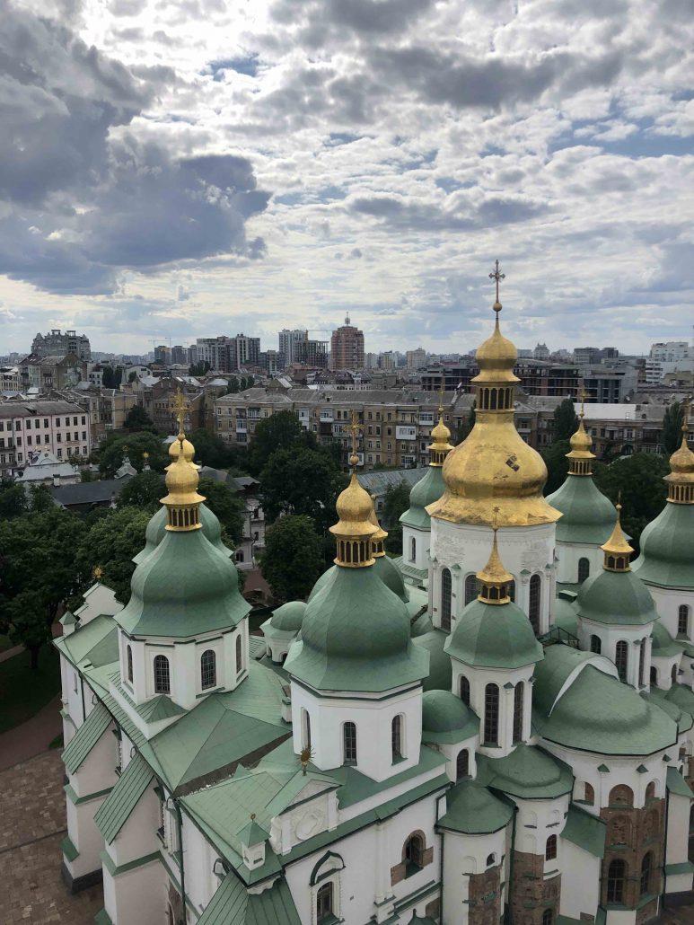 Aziz Sofya Katedrali - Kiev'de Gezilecek Yerler