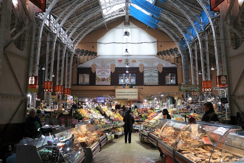 Kiev'de gezilecek yerler - Bessarabsky Market
