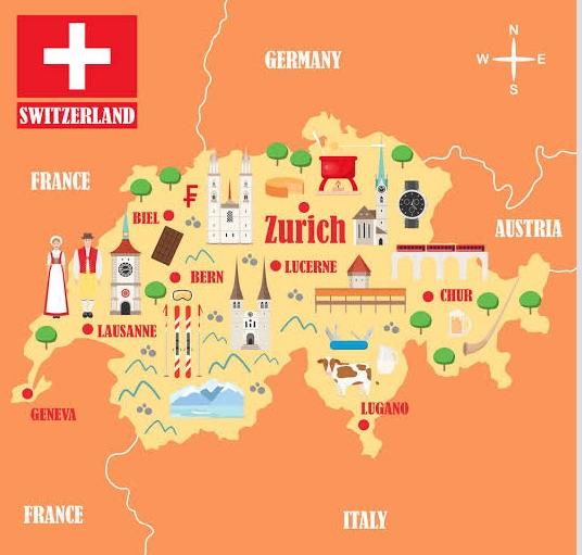 Bern harita