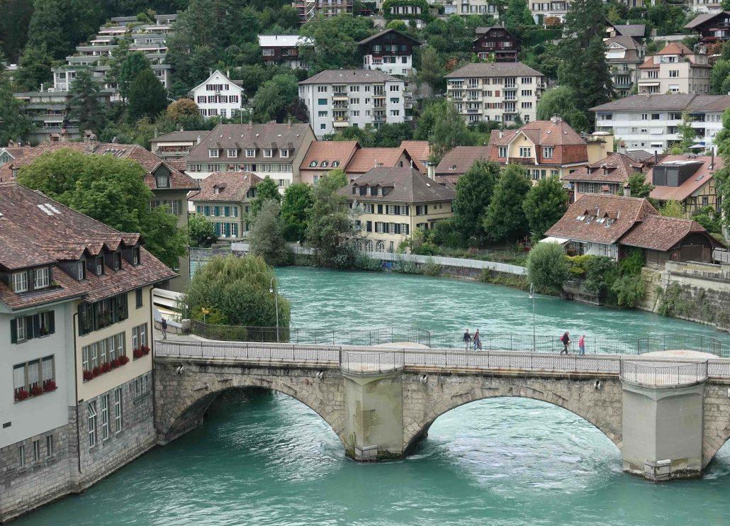 Bern Gezi Rehberi - Aare Nehri