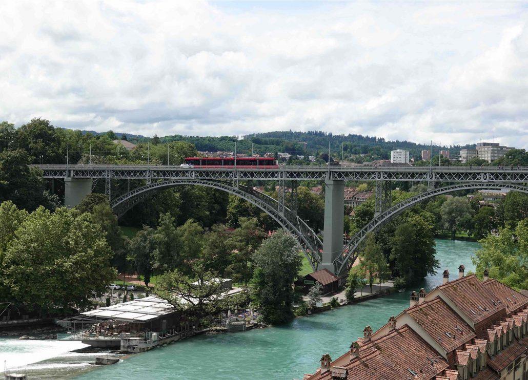 Bern'de Ulaşım