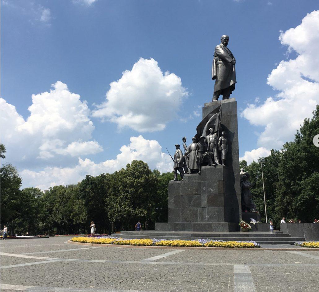 kharkiv gezi rehberi - sevcenko park