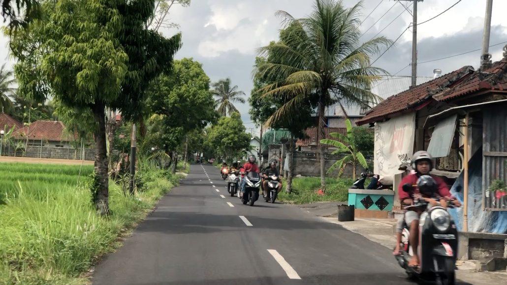 Bali'de trafik