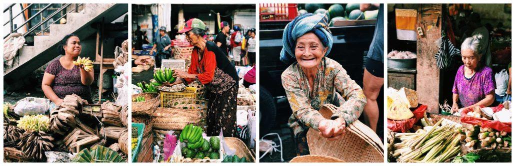 bali'de gezilecek yerler - ubud pazarı