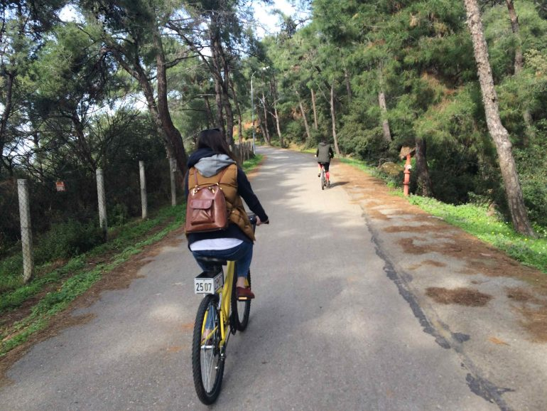 adalar - istanbul bisiklet rotaları