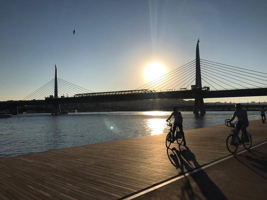 istanbul'un en güzel bisiklet rotaları - haliç