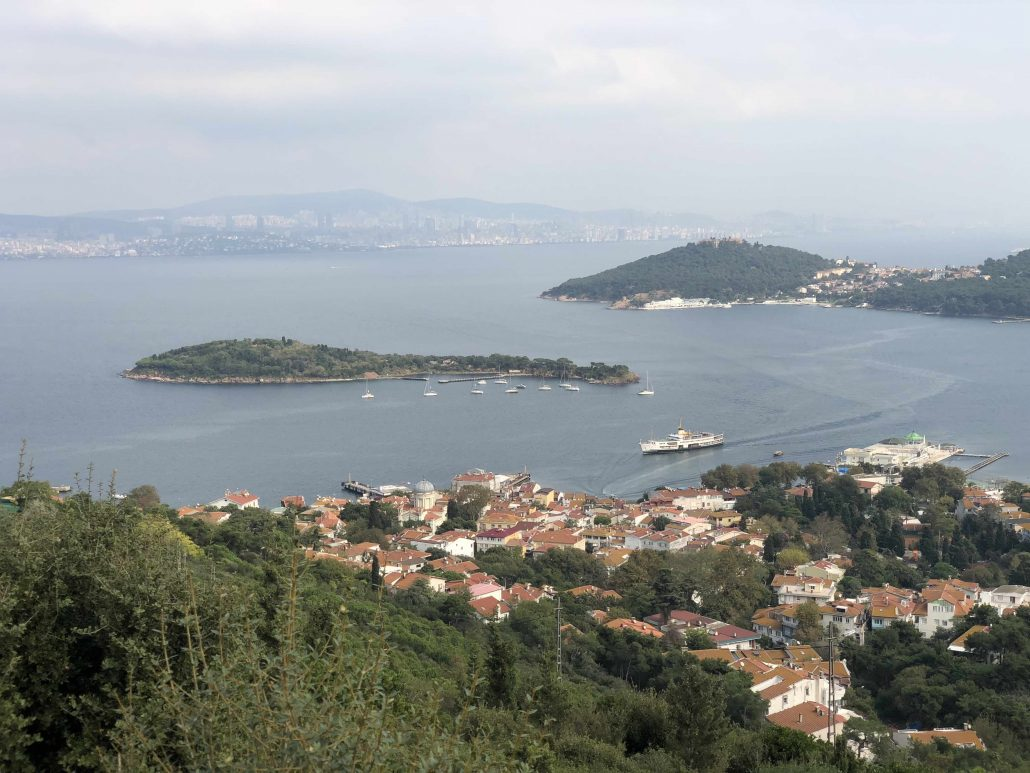 istanbul adaları gezisi - burgazada