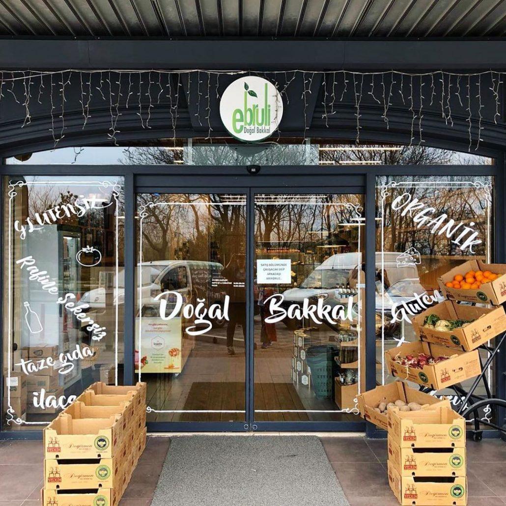 doğal ve organik ürünler satan dükkanlar - ebruli-doğal bakkal