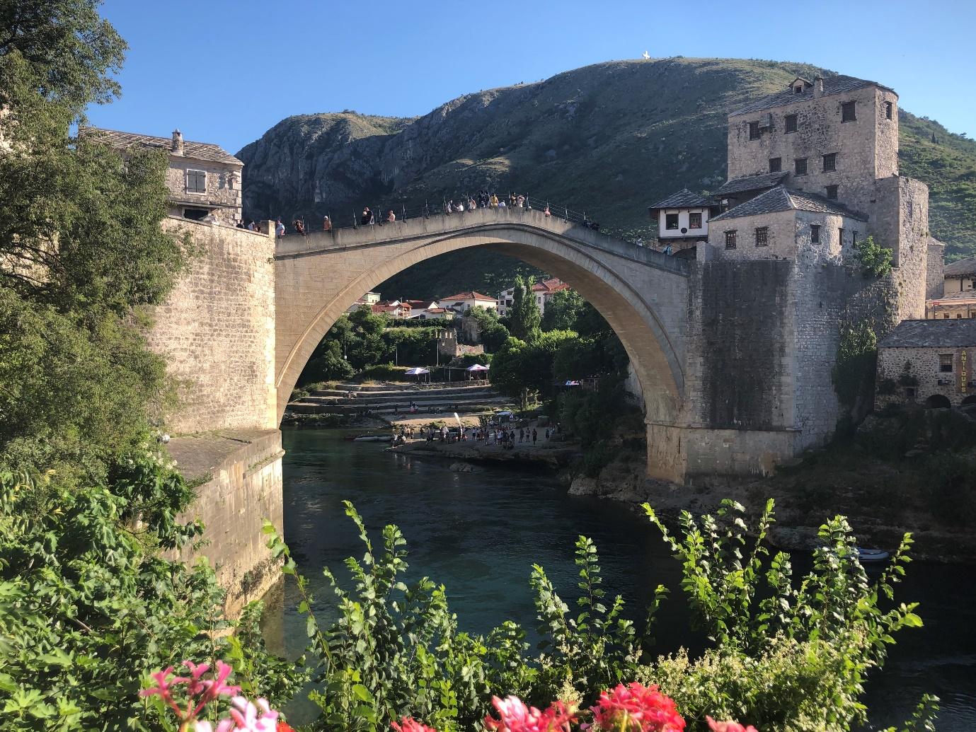 mostar köprüsü - bosna hersek'te gezilecek yerler